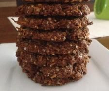 Recipe Anzac Biscuits (Gluten, Dairy and Refined Sugar Free) by Thermo Sensation - Recipe of category Baking - sweet Thermomix Recipes Healthy, Raw Food Recipes, Sweet Recipes, Cooking Recipes, Savory Snacks, Healthy Treats, Gluten Free Sweets, Gluten Free Recipes