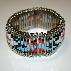 Thunderbird Safety Pin Bracelet