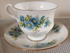Queen Anne Tea Cup and Saucer Pattern