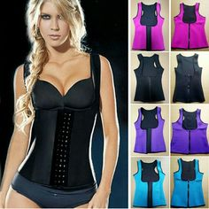 2. LATEX VEST CORSET WAIST TRAINER CINCHER CONTROL AFTER BUYING THE POST COMMENT SIZE  3 Hooks Vest Corset Latex Waist Traine 100% latex  Steel boning  - Use during walking out to increase therma activity  BACK SUPPORT   GREAT COVERAGE OF TORS An instant slimmer  waistline reduction of up to 3 dress sizes Compressed and controlled back fat and bra bulge firm and flatter weight loss of up to 4 dress sizes in 6 weeks Postpartum figure restoration under-bust lift stronger  AVAILABLE in Black…