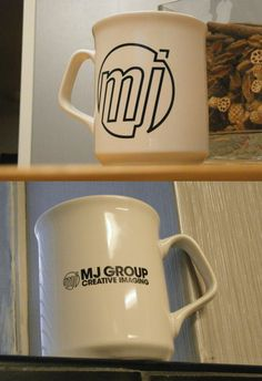 """Have a look at these great @mjgroup Sparta Mugs. An excellent print from the """"Print Gurus""""! #promo #mugs #print"""