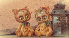 Купить кошка Дашка - рыжий, кот, кошка, котёнок, кошечка, игрушка, друзья мишек тедди