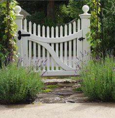 Wood Door Gate - DIY Garden Gate Ideas - 10 Great Entrances - Bob Vila