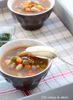 De vous à moi...: Soupe au Pistou