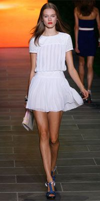 """guess fashion got wind of the Country Club Classic party. Tennis whites are """"in"""" this spring. #CCC"""