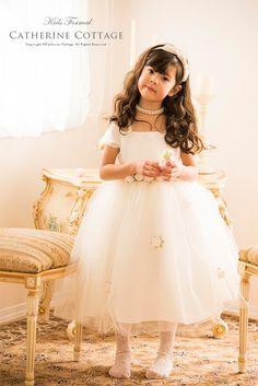 商品番号: 1080 子供ドレス フラワーベルトのチュールスカートドレス   フォーマル ガールズジュニアドレス ワンピース 結婚式  1080