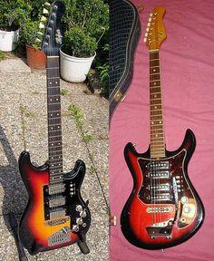 Die 'Hertiecaster'-Gitarre der 60er und 70er Jahre
