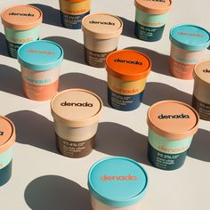 Branding and Packaging for Sugar Free Ice Cream Company - World Brand Design Sugar Packaging, Ice Cream Packaging, Dessert Packaging, Food Packaging Design, Packaging Design Inspiration, Brand Packaging, Branding Design, Chocolate Packaging, Coffee Packaging