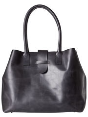 VIKI LEATHER BAG, BLACK, list