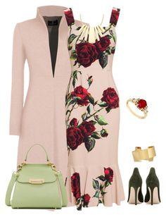 Dolce and Gabbana Rose Trumpet Dress Pink Cocktail Dress, Designer Cocktail Dress, Rose Cocktail, Red Sleeveless Dress, Red Midi Dress, Silk Dress, Couture, Rose Pink Dress, Short Summer Dresses