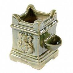 Buy gardening Planters online in India - Villcart Ceramic Tulsi Pot Mandir Design, Puja Room, Ceramic Pots, Indian Home Decor, Patiala, Garden Planters, Hinduism, Modern House Design, Things To Buy