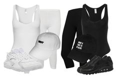"""""""Affordable"""" by xirix ❤ liked on Polyvore featuring мода, WearAll, American Apparel и NIKE"""