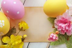 eggs, easter, easter, flowers, in the spring Ostern Wallpaper, Spring Wallpaper, Easter Pictures, Easter Flowers, Spring Photos, Bunt, Easter Eggs, Planter Pots, Wallpapers
