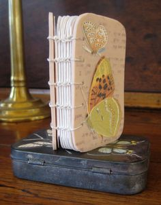 Butterfly book-in-a-tin