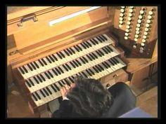 César Franck Prélude, fugue et variation. Vincent Dubois plays all César Franck works in concert Soissons Cathédrale.