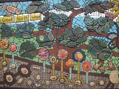 Mosaic Art Projects | Mosaic: The Great North Wood « Art4Space | A Community Arts ...