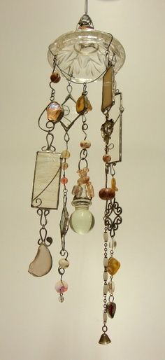 beaded wind chime with copper - Google Search