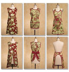 Butterick Ladies Easy Sewing Pattern 5263 - Classic Aprons in 5 Styles | Sewing | Patterns | Minerva Crafts