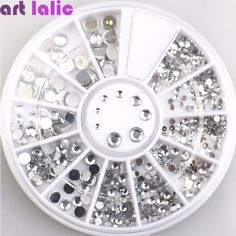 3D Nail Art Decorations Acrylic Diamond Shapes Rhinestones To Nails Art Accessories