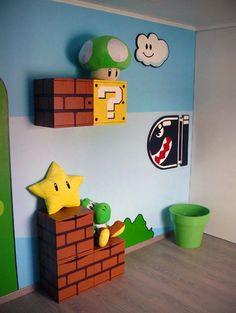 Epic Mario Room.