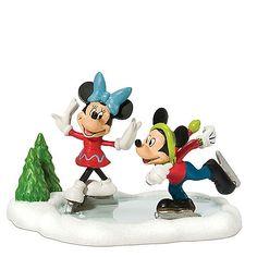 Disney Village, Mickey & Minnie Go Skating