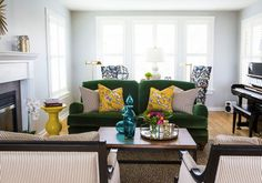 Queen Anne Home - eclectic - Living Room - Seattle - Whitestone Design Group, LLC