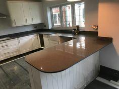 Grigio Medio Stella - Royston, Herts - Rock and Co Granite Ltd Stella, Granite, Kitchen Cabinets, Room, Furniture, Home Decor, Bedroom, Decoration Home, Room Decor
