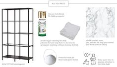 DIY gold bookshelf how to-01