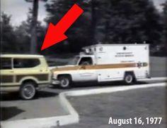 Ambulance Leaving Graceland Elvis Presley August 16, 1977