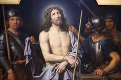 Ecce Painting - Ecce Homo by Pierre Mignard Anthony Van Dyck, Fra Angelico, Baroque Painting, Baroque Art, Cadiz, Caravaggio, Holy Week Images, Pontius Pilate, Race In America