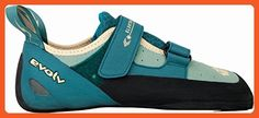 Evolv Elektra Climbing Shoe - Women's Jade/Seapine 9.5 - Outdoor shoes for women (*Amazon Partner-Link)
