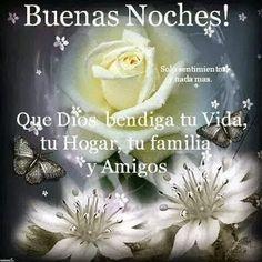 #BuenasNoches #FelizNoche Buenas Noches Imagenes Bonitas