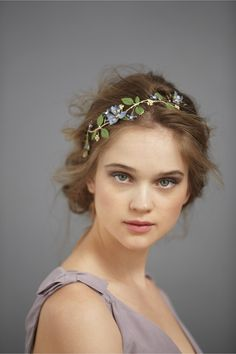 Orchard-In-Summer Hairpin in SHOP Shoes & Accessories Headpieces at BHLDN