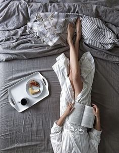 weekend morning in bed
