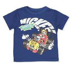 c0f84a482 Mickey Mouse and The Roadster Racers Boys Short Sleeve Tee 18 Months Navy