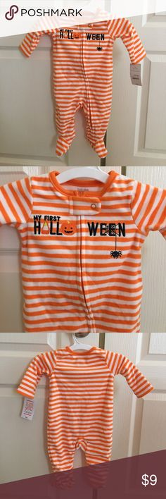 NWT My 1st Halloween footies As shown Carter's One Pieces Footies