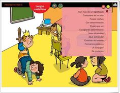 """Actividades digitales de Lengua Española. 5º de Primaria. Editorial La Galera"" La Gale, Editorial, Family Guy, Guys, Memes, Teaching Resources, Spanish Language, Read And Write, Animal Jokes"