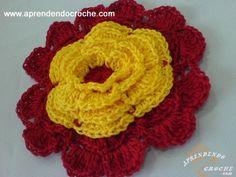 Flor de Croche Preciosa - 2º Parte