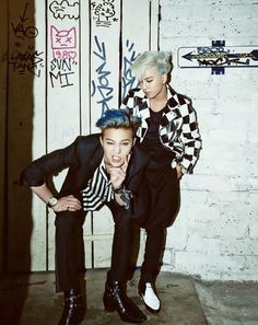 G-Dragon & Taeyang for Harper's BAZAAR Man South Korea's most enigmatic pair G-Dragon and Taeyang recently landed a shoot with illustrious Gd Bigbang, Bigbang G Dragon, Daesung, Gd Et Top, G Dragon 2014, Bad Boys, Cute Boys, Bigbang Wallpapers, Big Bang Kpop