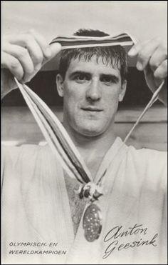 Anton Geesink - (1934-2010) worstelaar en judoka  Geboren: 6 april 1934, Utrecht Overleden: 27 augustus 2010, Utrecht Nederland