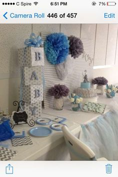 Elephants Baby Shower Party Ideas | Photo 1 of 20