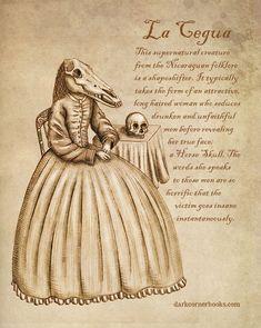 Mythical Creatures Art, Mythological Creatures, Magical Creatures, Mythological Monsters, Dark Creatures, Horse Skull, Myths & Monsters, Legends And Myths, Scary Legends