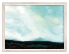 """Serenity Sky"" - Art Print by Amy Hall in beautiful frame options and a variety of sizes."