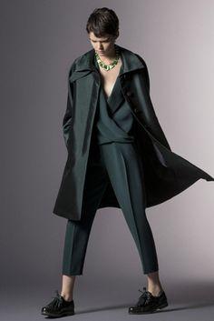 Giorgio Armani Pre-Fall 2014 Fashion Show: Complete Collection - Style.com