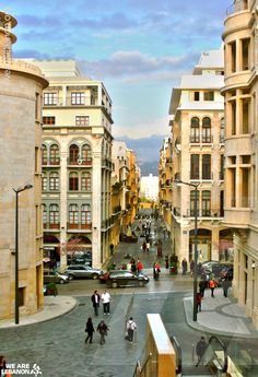 Lebanon, Beirut's downtown