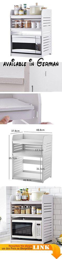 B00UWKHIMQ  Küchenschrank Seamus 12 120x181x44 cm weiß schwarz