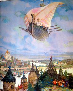 Nikolai Mikhailovich Kochergin (1897)   Beautiful Panting.!!!