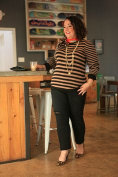 cabi fall 2017 including Penny Lane Lovely Earn Your Stripes Pullover on Wardrobe Oxygen