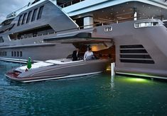 Super Yacht Garage …
