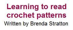 Learning to read crochet patterns (written, not diagram)